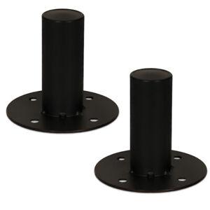 2-Goldwood-Sound-GTH-44-Speaker-Cabinet-Metal-Pole-Mounts-1-3-8-034-Stand-Mounts