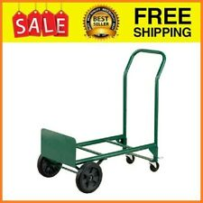 2 In 1 Convertible Hand Truck And Dolly 400 Lb Capacity