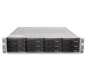 Supermicro-SuperServer-6028TR-HTR-8x-Intel-10-Core-E5-2640v4-512GB-4-node-Server