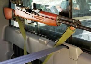 Vehicle Gun Rack Rear Window Transport Rifle Bow Shotgun Holder For Car Truck Ebay