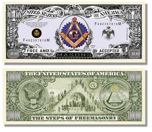 15 Factory Fresh Novelty Miss Liberty Million Dollar Bills #1 Selling Bill