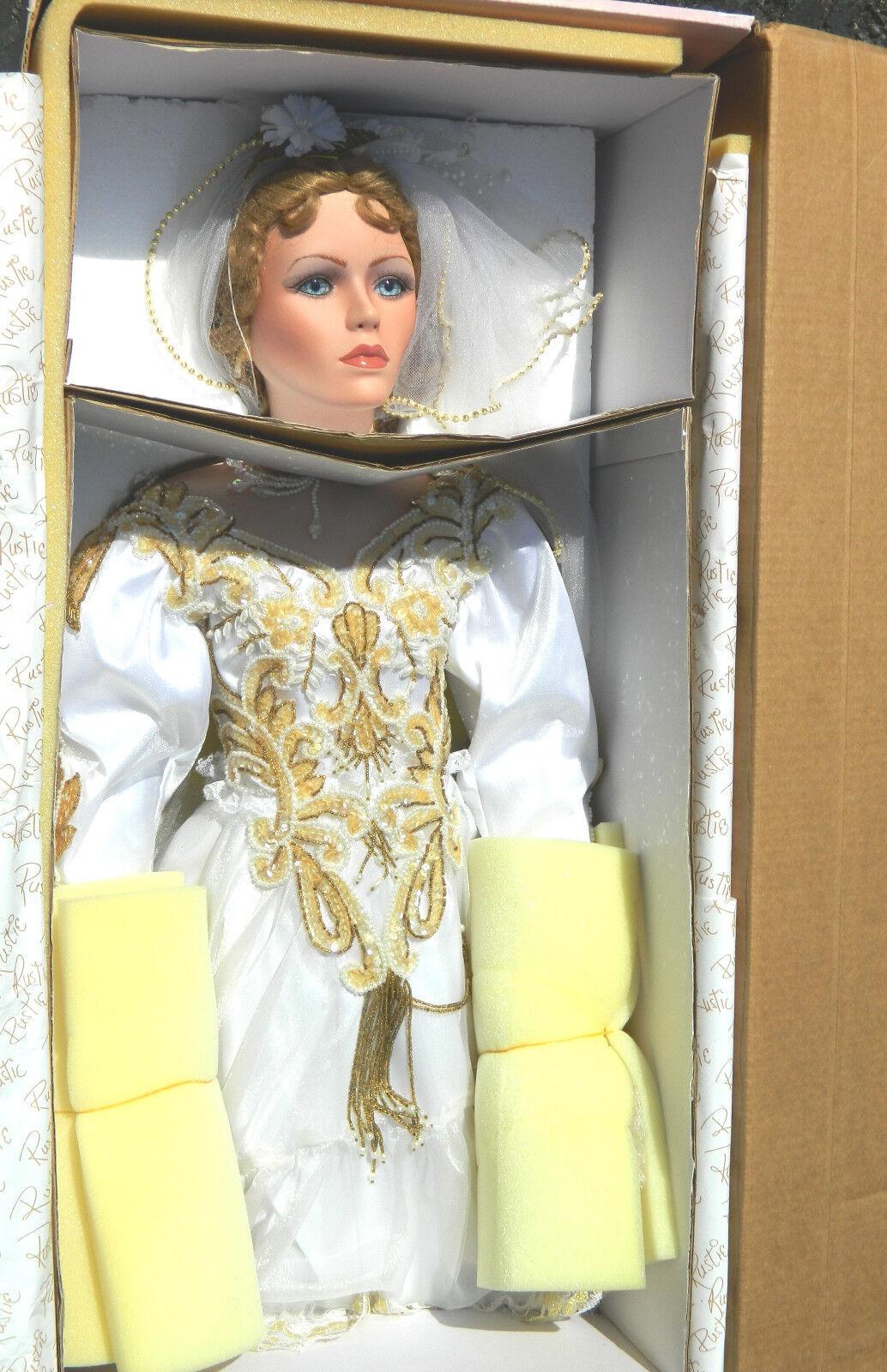 elementi di novità Welden Museum BY RUSTIE MARIAH gree 42    Ttutti Bride Porcelain bambola Bridal Gown  grandi prezzi scontati