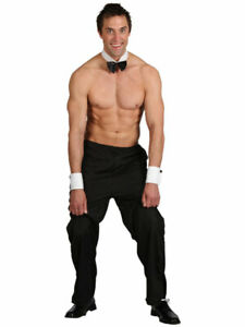 BLACK Wicked MENS PARTY BOY STRIPPER PARTY OUTFIT