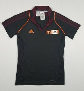 Image is loading ADIDAS-Womens-mi-Team-SS-Soccer-Jersey-Black- 9e42a4a630