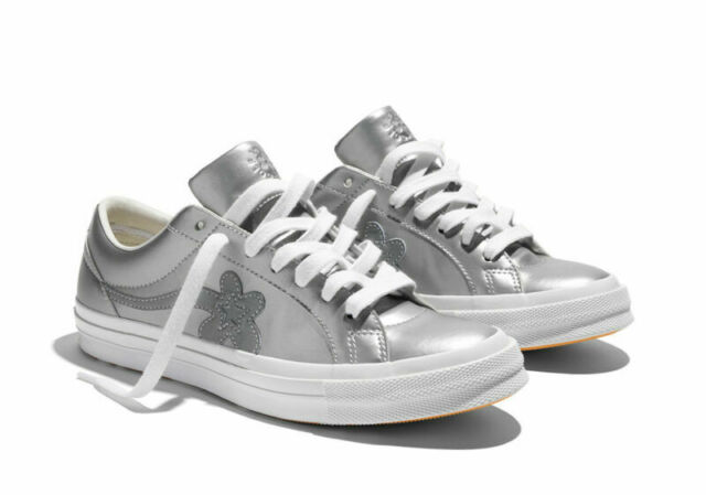 Converse Tyler The Creator Golf Le Fleur 3m One Star Ox Metallic Silver 162134c For Sale Online Ebay