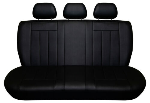 Volkswagen UP Maßgefertigte Kunstleder Sitzbezüge in Schwarz