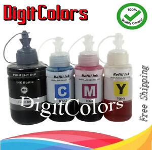 Details about Refill Ink Bottle set For NonOEM Epson Ecotank ET-3600  ET-16500 ET-4550 T7741