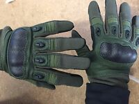 Rebel Tactical Magnum Hard Knuckle Gloves - Large (od Green)