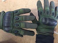 Rebel Tactical Magnum Hard Knuckle Gloves - Large (od Green)