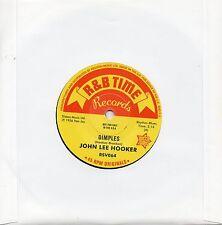 JOHN LEE HOOKER  DIMPLES  / BOOM BOOM / SHE'S MINE  UK OUTTASIGHT/R&B  MOD/R&B