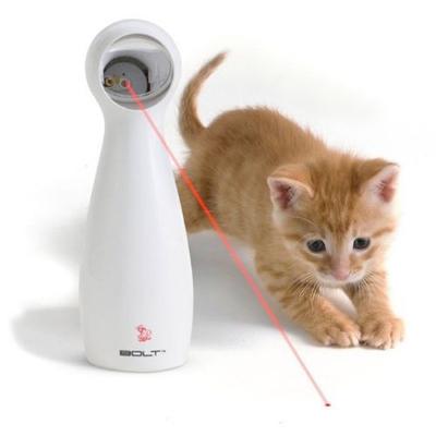 Petsafe FroliCat BOLT Interactive Cat Toy, Laser Light Pointer, Free Battery