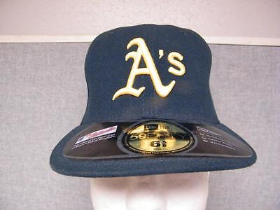 Strong-Willed New Oakland A's Athletics Mens Adult New Era Fitted Size 6 5/8 Cap Hat Other Baseball & Softball