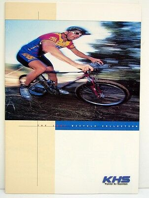 Vintage 1997 KHS MTB Bicycles Catalog Bicycle Magazine Booklet Brochure