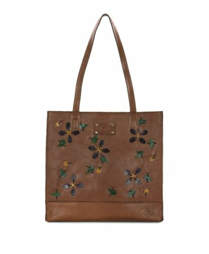South 249 Nash Tan North Dye 887986087184 Aplique Dip Patricia Tote Nuevo Toscano Leather fZwUq0q