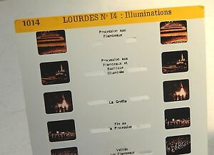 Carte-Stereoscopique-LESTRADE-LOURDES-N-14-Illuminations-Carte-N-1014