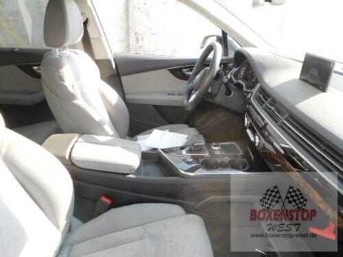 Audi q7 4 M Appuie-Tête Sièges Avant Côté Passager Cuir perlnappa felsgrau