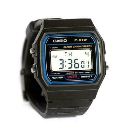 Casio-Men-039-S-F91W-1-Classic-100-multifuctional