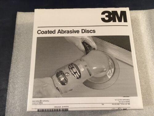 "P180 Grade 3M Hookit 255L Gold Film Sanding Discs Box of 50 8/"" x NH"