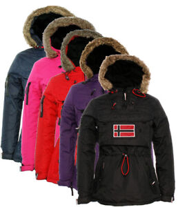 Giubbotto-Geographical-Norway-Bronson-Lady-donna-Jacket-Woman-Giacca-Impermeabil