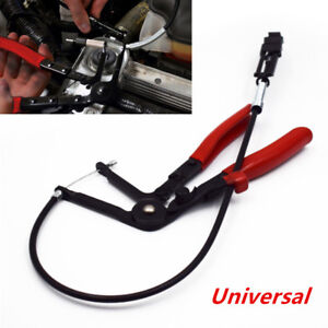 Flexible-Wire-Long-Reach-Hose-Clamp-Plier-Auto-Fuel-Oil-Water-Pipe-Repair-Tool