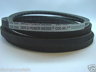 "Dayco 5VX1600 Power Wedge Cog V-Belt Chek-Mate .625/""x 160/"" Mower Deck b80"