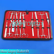 44 PC MINOR SURGERY STUDENT KIT SURGICAL DENTAL FORCEPS,DS-686