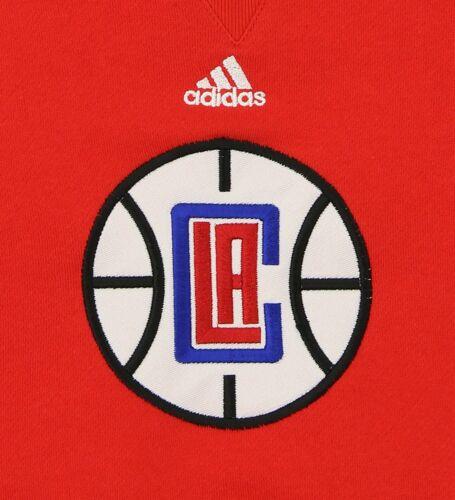 Adidas NBA Toddlers Los Angeles Clippers Prime Fleece Sweatshirt Red