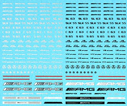 German Tuning Cars Street Racing No.02 Sponsoren Bogen 1:18 Decal Abziehbilder