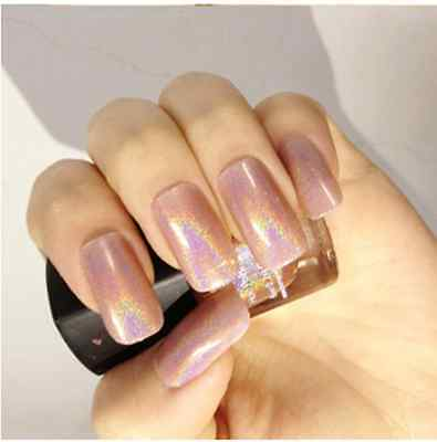 6ml Born Pretty Holo Glitter Nail Art Polish Varnish Hologram Effect -12 colors