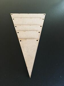 Wooden-MDF-Bunting-Flags-Triangles-Plaque-Craft-Embellishments-Wedding-Laser-Cut
