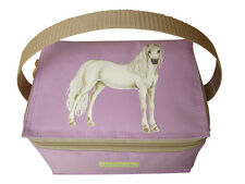 HORSE LUNCHBAG LUNCHBOX LILAC BY PONY MALONEY