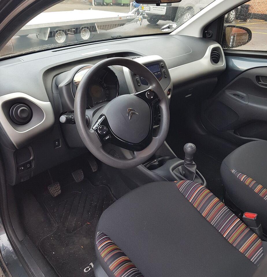 Citroën C1 1,0 e-VTi 68 Feel Benzin modelår 2014 km 39000