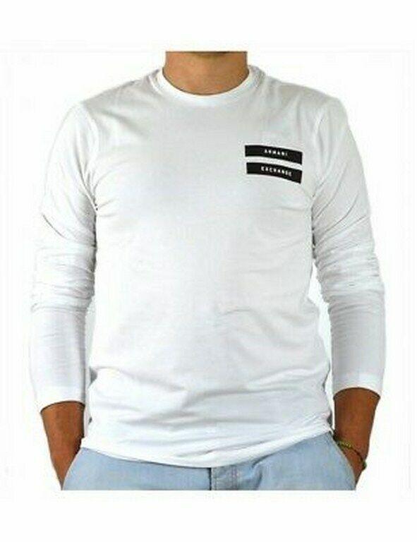 Armani Exchange Shirt Long Men (6ZZTHC) 100% Authentic Size L New