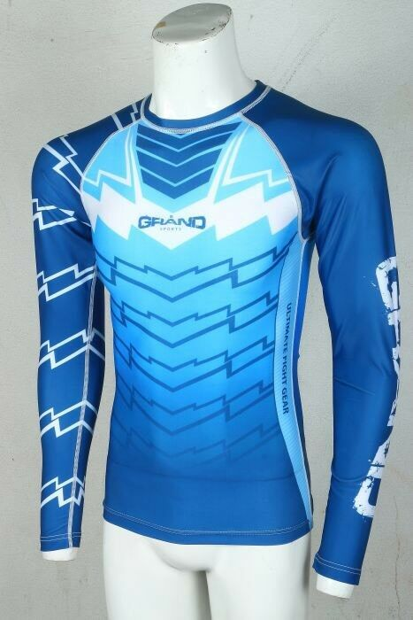 Mma rash  guard long sleeve  wholesale price and reliable quality