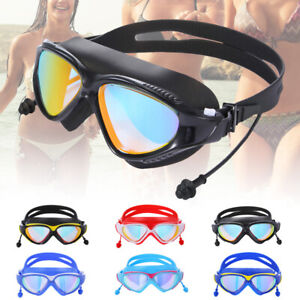 JAP-US-Adult-Goggles-Glasses-Summer-UV-Protection-Anti-Fog-Waterproof-Swimming