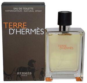 TERRE-D-039-HERMES-Hermes-3-3-oz-100-ml-Eau-de-Toilette-EDT-Men-Cologne-Spray