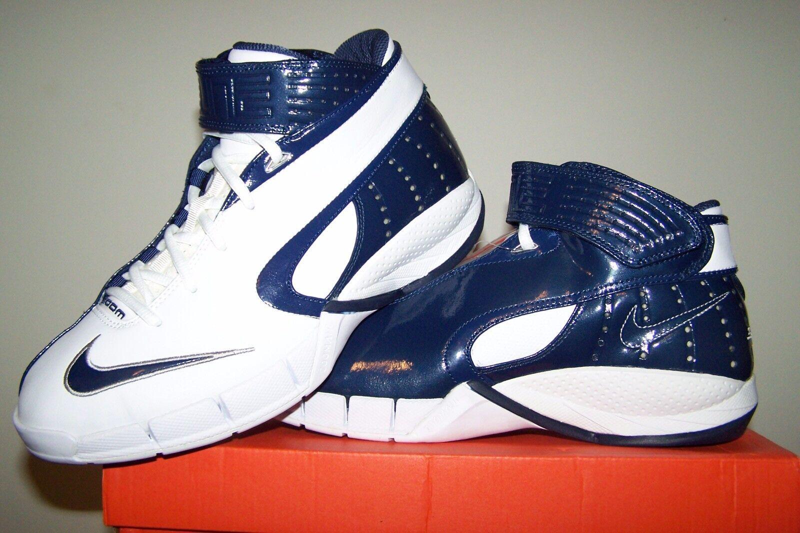 Women's size 10.5 M NEW Nike Wmns Zoom Huarache White Basketball Shoes