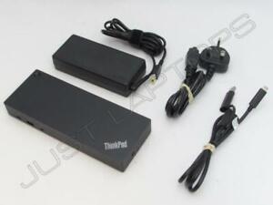 Lenovo THINKPAD X280 X270 Usb-C USB 3.0 Docking Station Replicatore Porte Dock