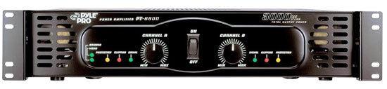 Pyle PT6800 3000 Watts X 2 Bridgeable Power Amplifier