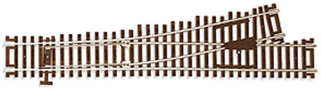 Atlas HO Scale Code 83 #4 Custom Left-Hand Turnout/Switch Model Train Track