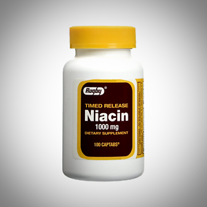 Image is loading Niacin-TR-1000mg-by-Rugby-Laboratories-100-Timed-