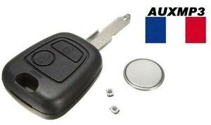 Plip-coque-cle-Peugeot-106-206-206-206CC-306-107-207-307-pile-2-switchs