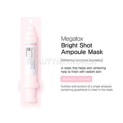 [TONYMOLY] Megatox Ampoule Mask 23g 3 Type / Cellulose microfiber