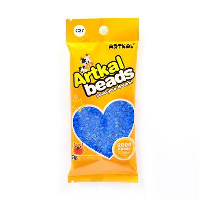 Mini Bügelperlen 2,6mm C37 True Blue Fuse Beads Original Artkal 2000stk