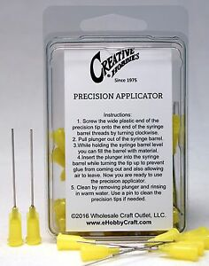 20 Gauge 1.5 Inch, Precision Applicator Dispensing Needle Tips, 50 Pieces