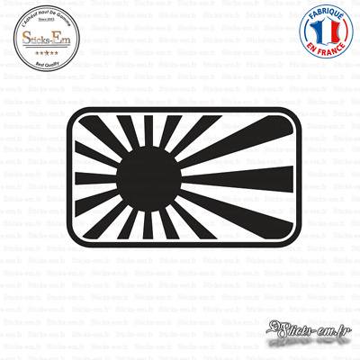 Sticker JDM Gum Ball 3000 Decal Aufkleber Pegatinas D-203 Couleurs au choix