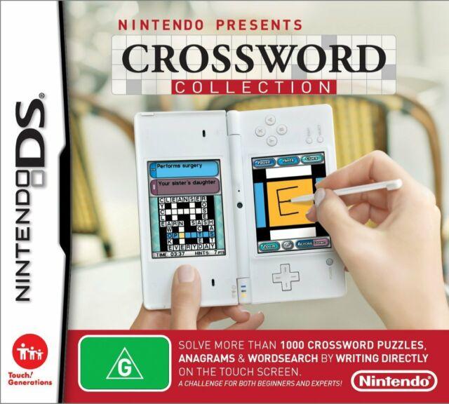 Jeu Nintendo DS Mots Croisés Collection Neuf