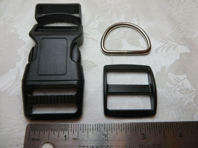 1 Set, 1-1/4'' (32mm) -Dog Collar Hardware kits - Super Strong
