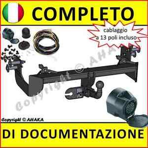 Gancio traino /& ELECTRIC 12N MB MERCEDES CLASSE V VITO 638 W638 1996 a 2003//collo di cigno