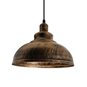 Vintage-Industriel-Abat-Jour-Mezzanine-Style-Metal-Plafonnier-Pendentif-de-Lampe